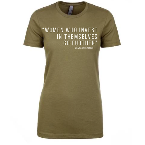 Women Who Invest T-Shirt