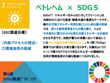 週刊SDGs 第8週
