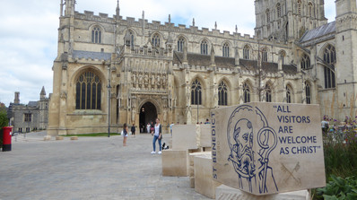 Gloucester Cathedral front view