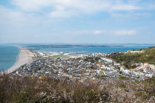 Chessel Beach, Dorset