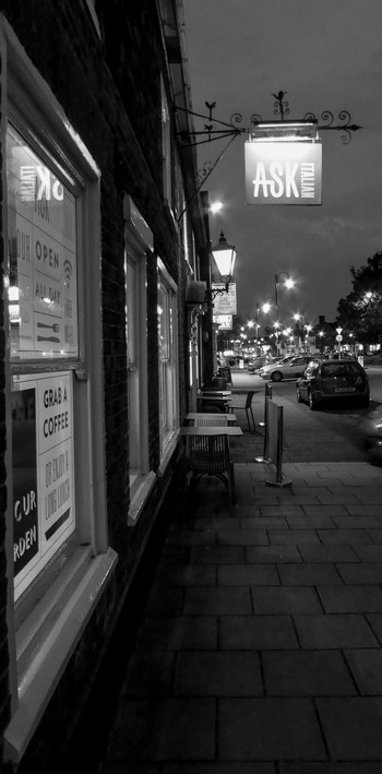 High Street by night
