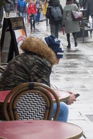Phone watching