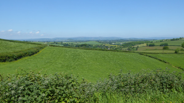 Dartmoor seen from Paignton
