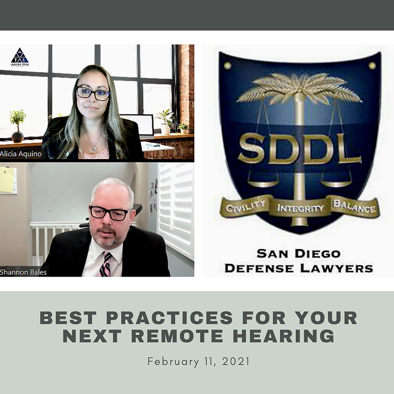 Best Practices for Your Next Remote Hearing