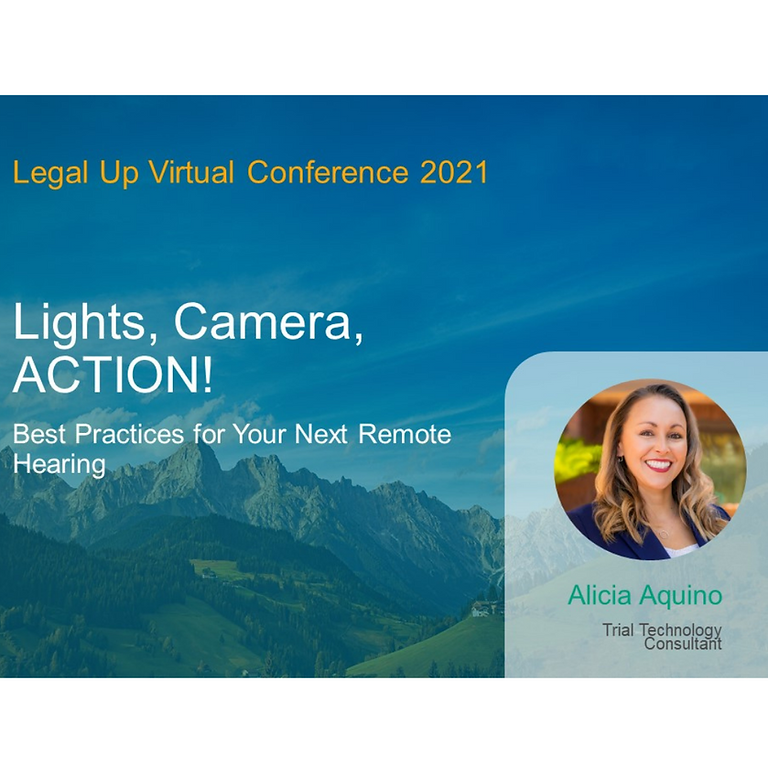 Legal Up: Preparing for Your Next Remote Appearance