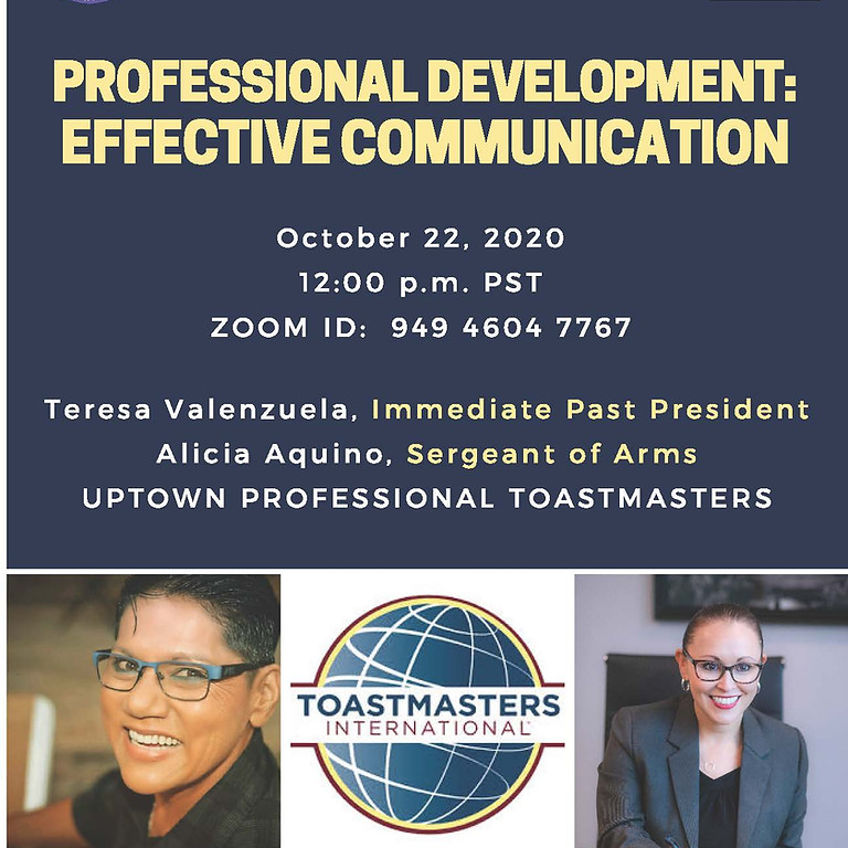 Virtual Lunch with Leaders: Professional Development – Communication