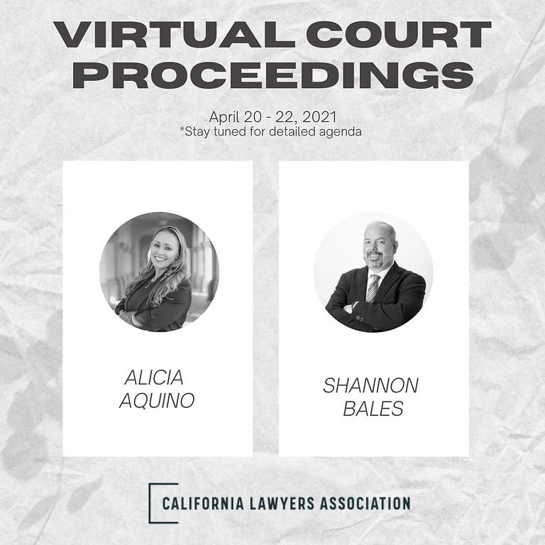 Virtual Court Proceedings A to Z