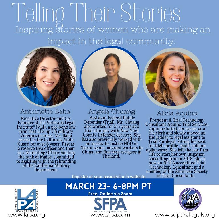 Telling Their Stories