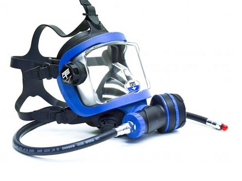 Guardian Full Face Mask  Black/Blue