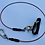 Thumbnail: Freediving lanyard with quick release snap link