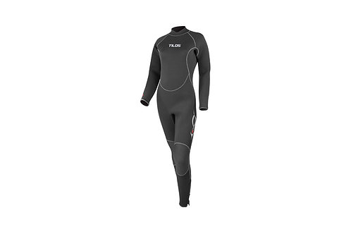 Ladies 7/5mm Semi-Dry Seal Suit
