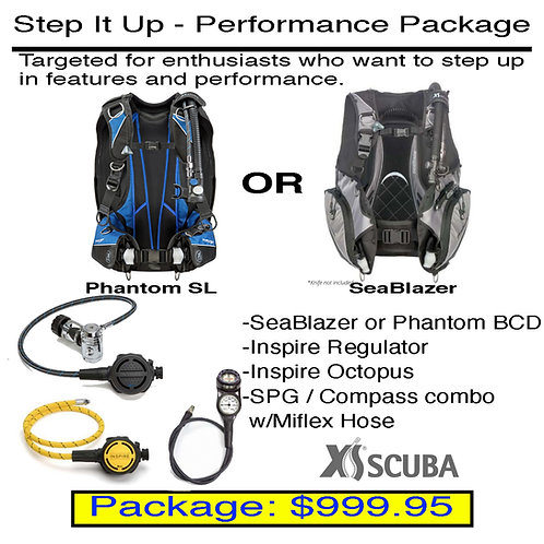 Step It Up - Performance Package