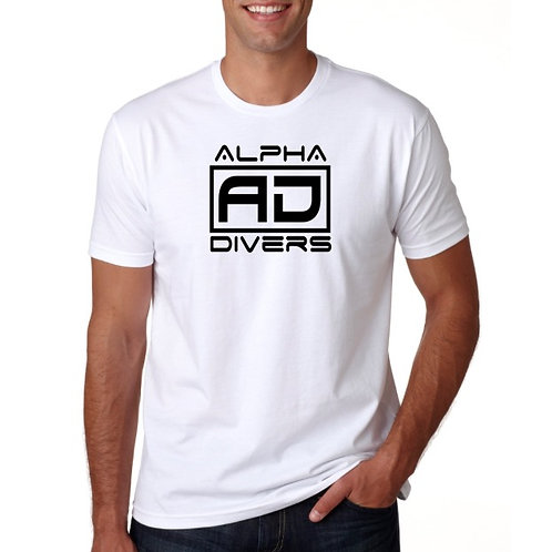 White AD Logo Shirt