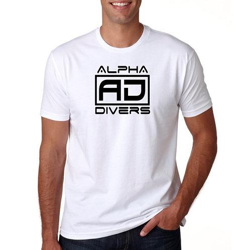 White AD Logo Shirt