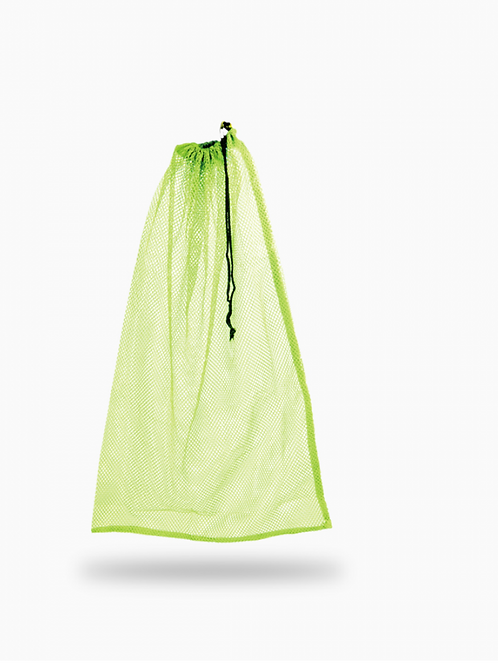 Drawstring Mesh Bag - Yellow