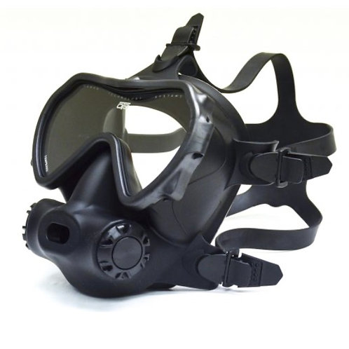 OTS Spectrum Full-Face Mask Black / Clear