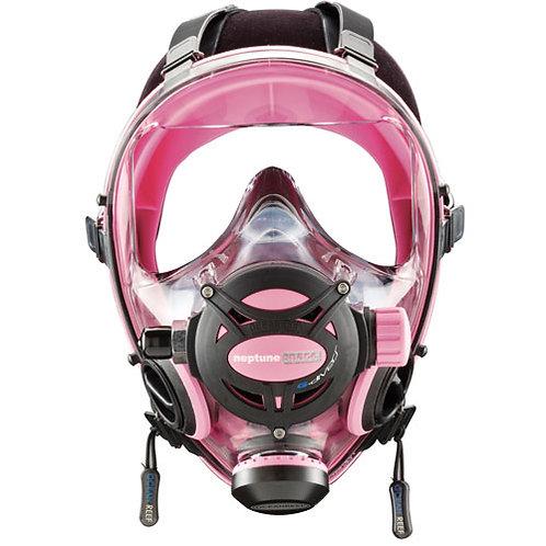 Ocean Reef Neptune Space G Full Face Mask Small/Medium Pink