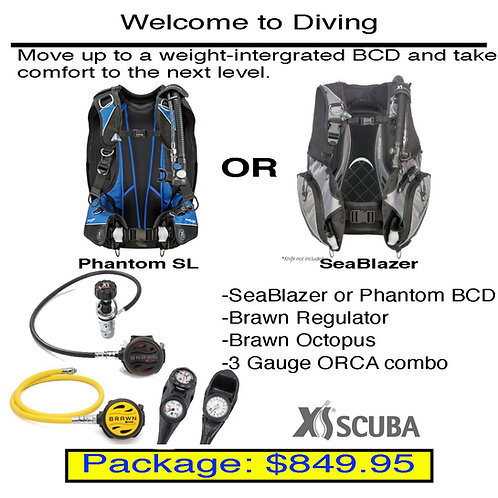 Welcome to Diving Package