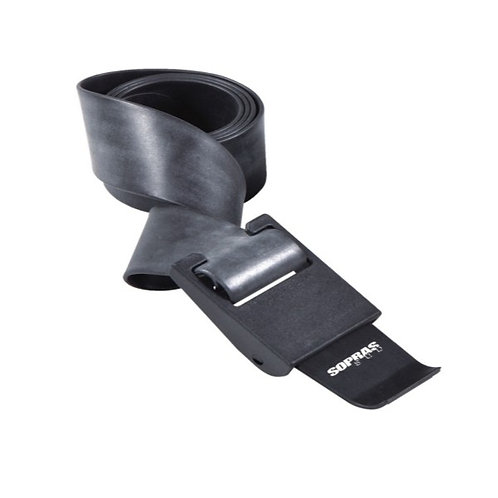 Rubber Belt With Plastic Buckle