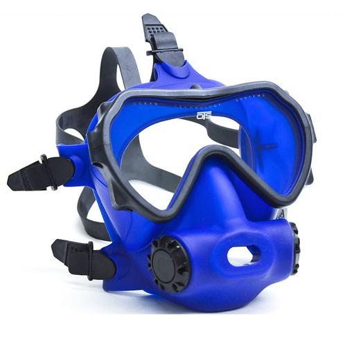 OTS Spectrum Full-Face Mask  Blue / Clear