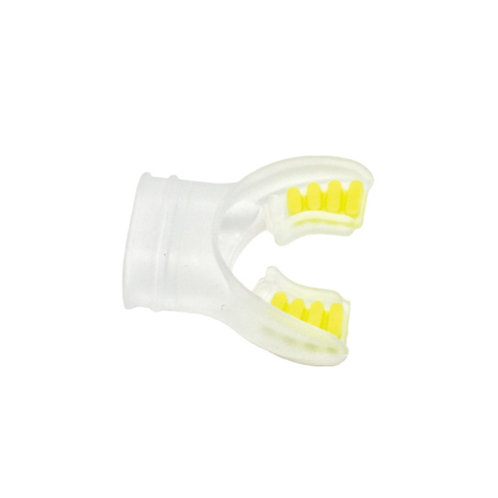 Silicone Mouthpiece Clear / Yellow