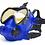 Thumbnail: OTS Spectrum Full-Face Mask  Blue / Coated