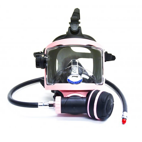 Guardian Full Face Mask  Black/Pink