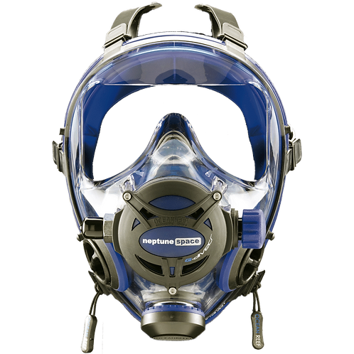 Ocean Reef Neptune Space G Full Face Mask Medium/Large Cobalt