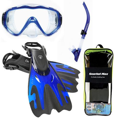 Snorkel Max - Snorkeling Package - Blue