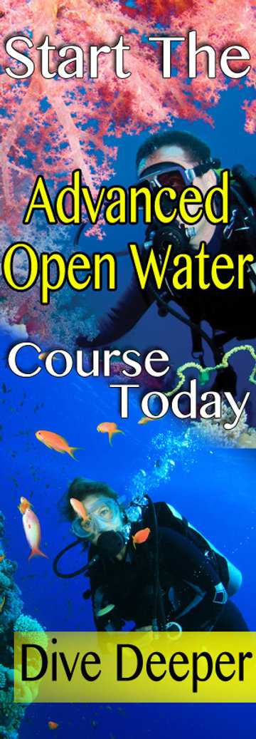 """That's what the PADI Advanced Open Water Diver course is all about. You don't have to be """"advanced"""" to take it – it's designed to advance your diving, so you can start right after earning your PADI Open Water Diver certification."""