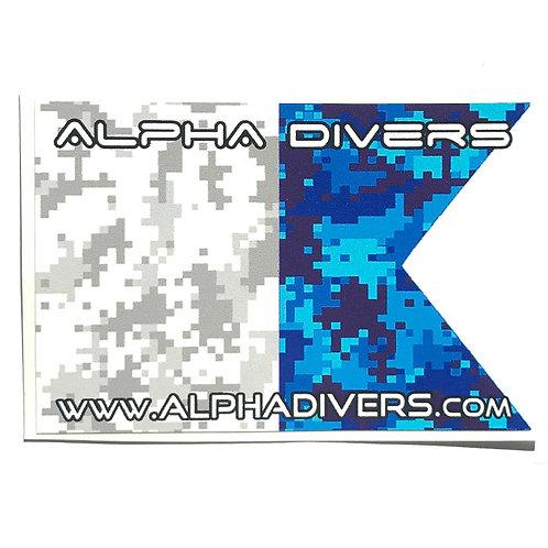 Digi Alpha Flag