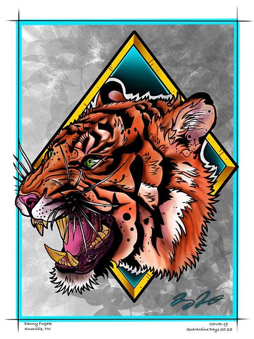 Tiger Print - Danny