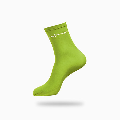 Lycra Sock Yellow