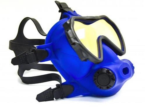 OTS Spectrum Full-Face Mask  Blue / Coated