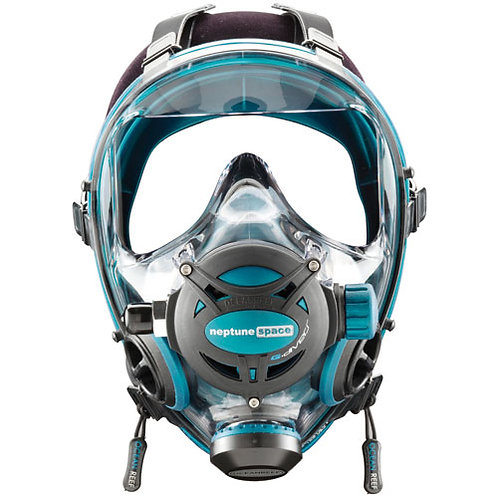 Ocean Reef Neptune Space G Full Face Mask Medium/Large Emerald