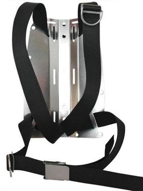 Aluminium Backolat and DIR harness