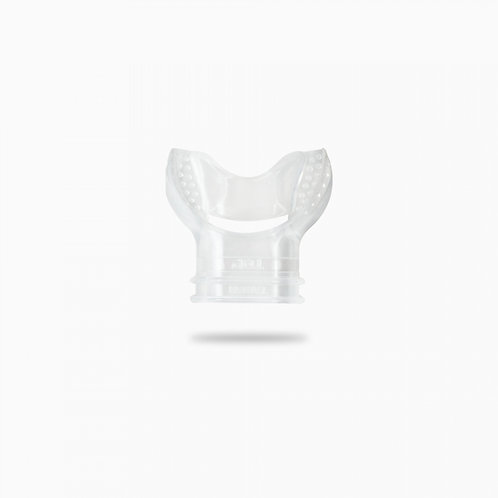Clear Silicone mouthpiece with bridge