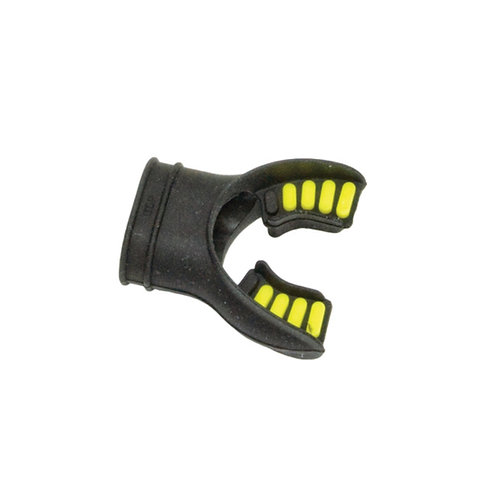 Silicone Mouthpiece  Black / Yellow