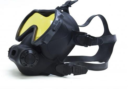 OTS Spectrum Full-Face Mask Black / Coated