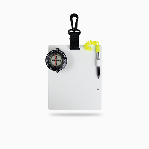Dive Slate With Compass