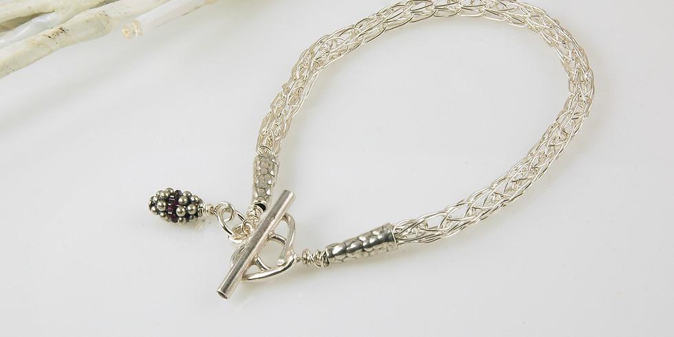 RESCHEDULED - Class - Viking Knit Bracelet