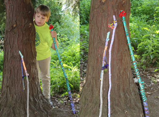 Kids Walking Sticks - Midsummer edition