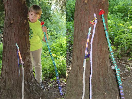 Kids Walking Sticks - Midsummer edition