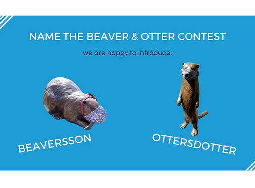 Name the Beaver & Otter at Nordia House Contest