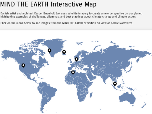 Interactive Map for MIND THE EARTH Exhibit