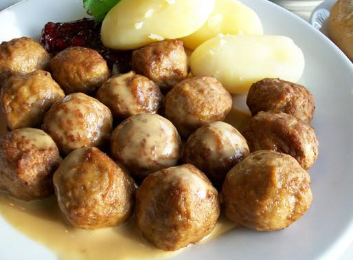 Ikea's Swedish Meatballs with Cream Sauce