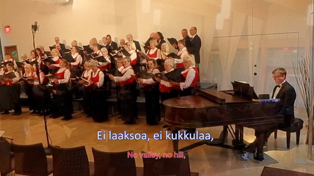 Portland Nordic Chorus - Maamme: Finland's National Anthem