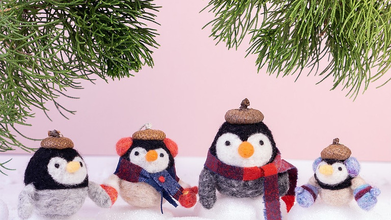 Holiday Penguin Felting Workshop