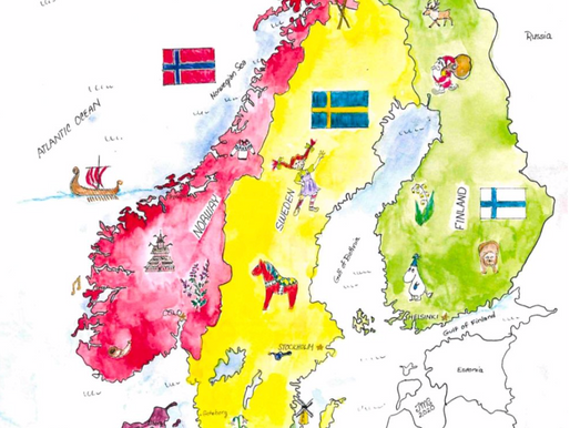 Nordic Region Coloring Pages