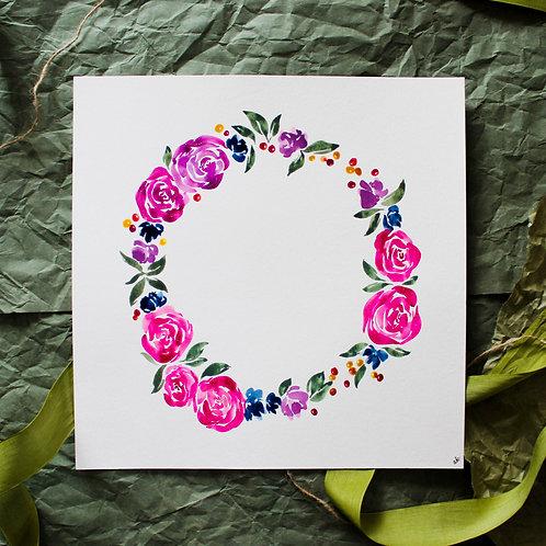 Sparkling Wreath - Original